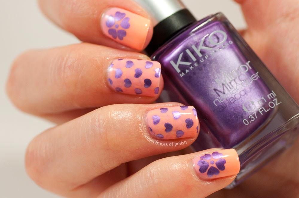 Extra Girly Nail Art Sunday May Contain Traces Of Polish