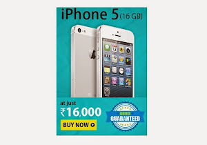 Buy Apple iPhone 5 16GB at 16000 Rupees best price
