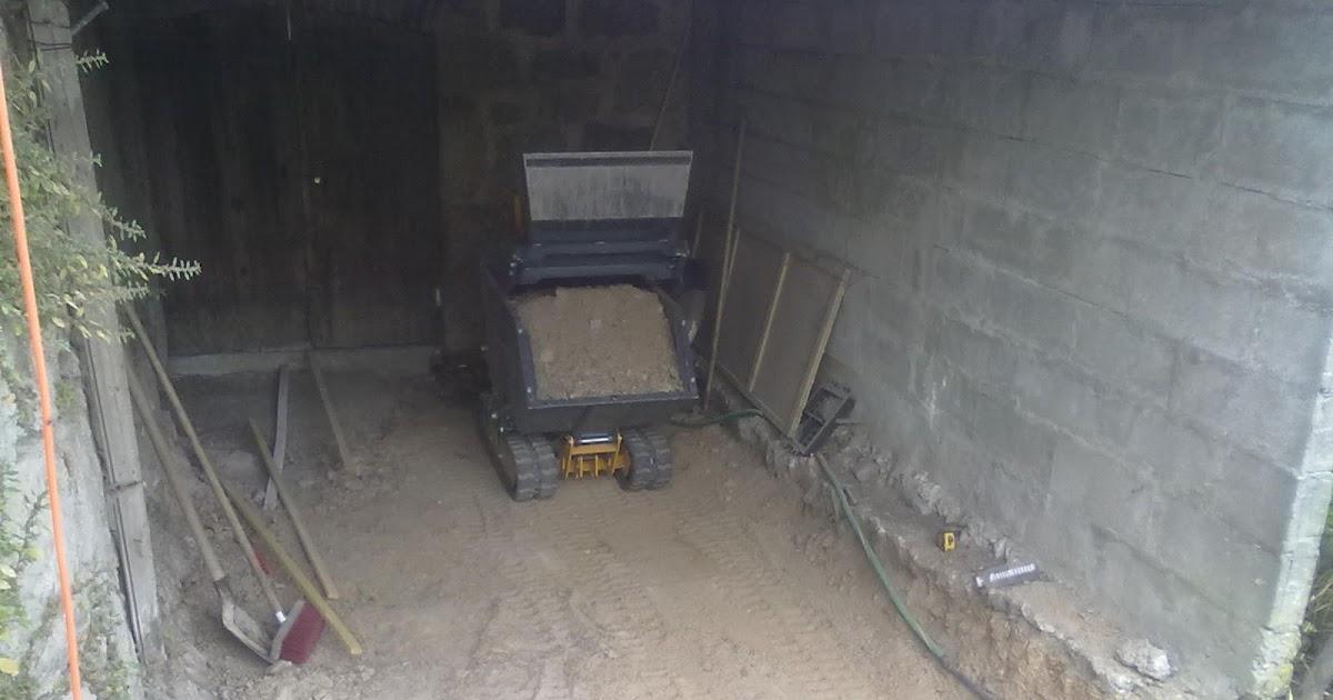 Le clos du pigeonnier agrandissement de la cave for Couler une dalle beton exterieur