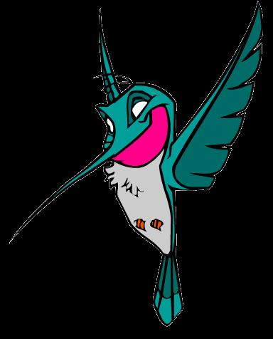 Pocahontas Flit desenho colorido com fundo transparente