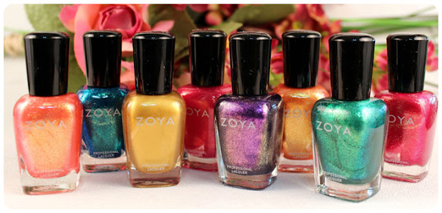 Zoya 2013 Summer Collection Nail Polishes