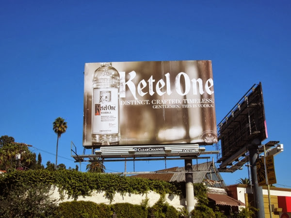 Ketel One Vodka Distinct billboard