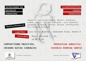 AGENDA FEMINISTA INTERNACIONAL MAYO 2012