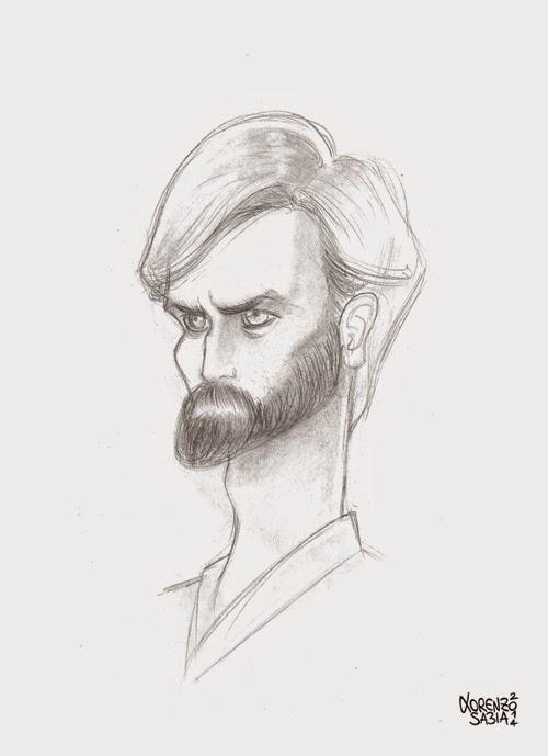 Obi Wan Kenobi by Lorenzo Sabia