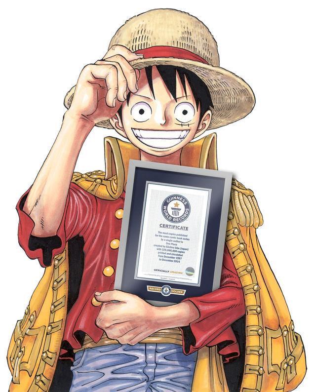 Manga One Piece w Księdze rekordów Guinnessa