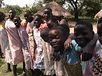 Smiling Haitian girls