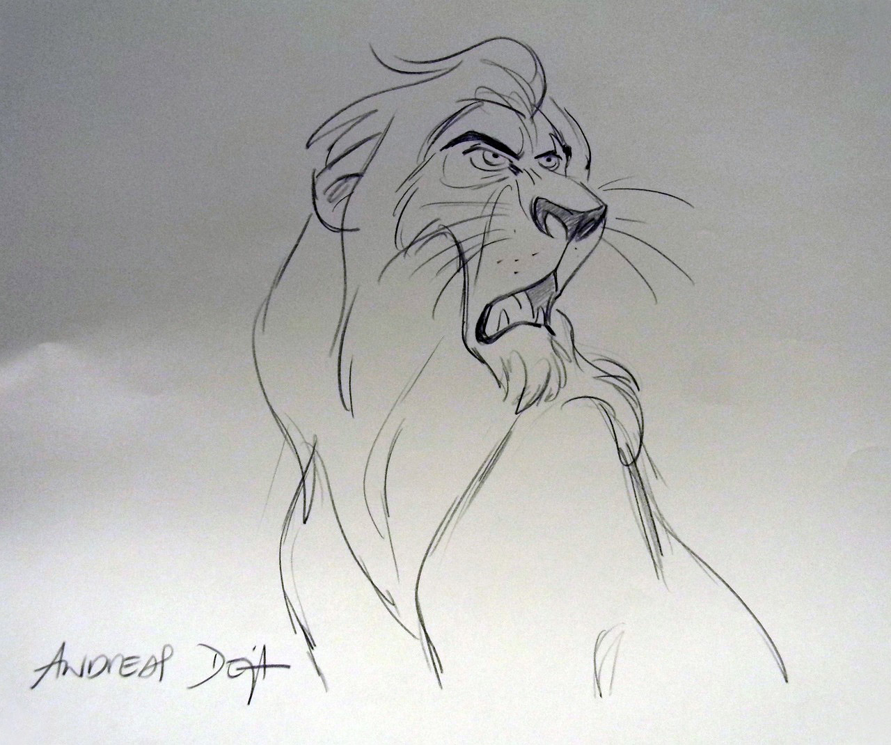 Character Design Lion King : Living lines library the lion king character scar