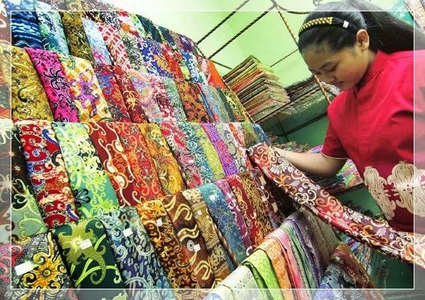 Batik Dayak (Batik Samarinda) Kalimantan Timur