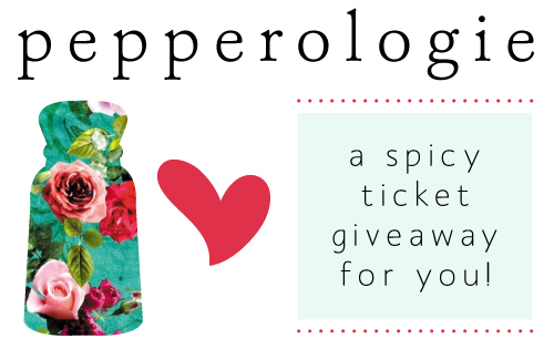 StyleAndPepperBlog.com : : Pepperologie // Dec 1st Ticket Giveaway