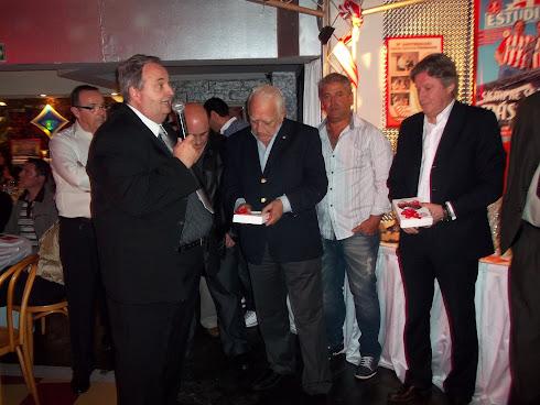 Quique Lombardi y Gerardo Villadeamigo