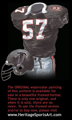 Atlanta Falcons 1990 uniform