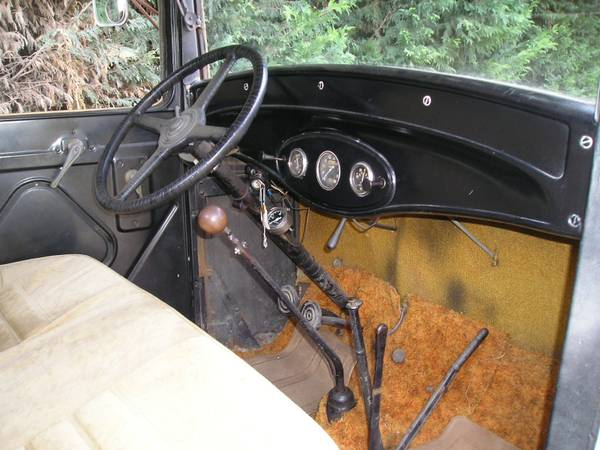 Ford Truck Interior Cabin