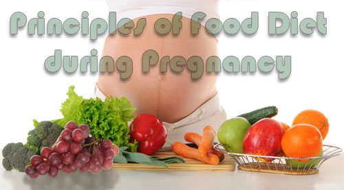 Principles of Food Diet during Pregnancy