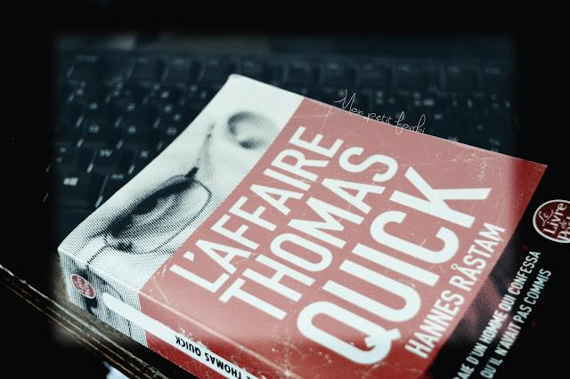 Couverture livre : L'affaire de Thomas Quick par Hannes Rastam