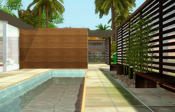 [LIVING DESIGN] WOODEN BOX HOUSE THE SIMS 3 area