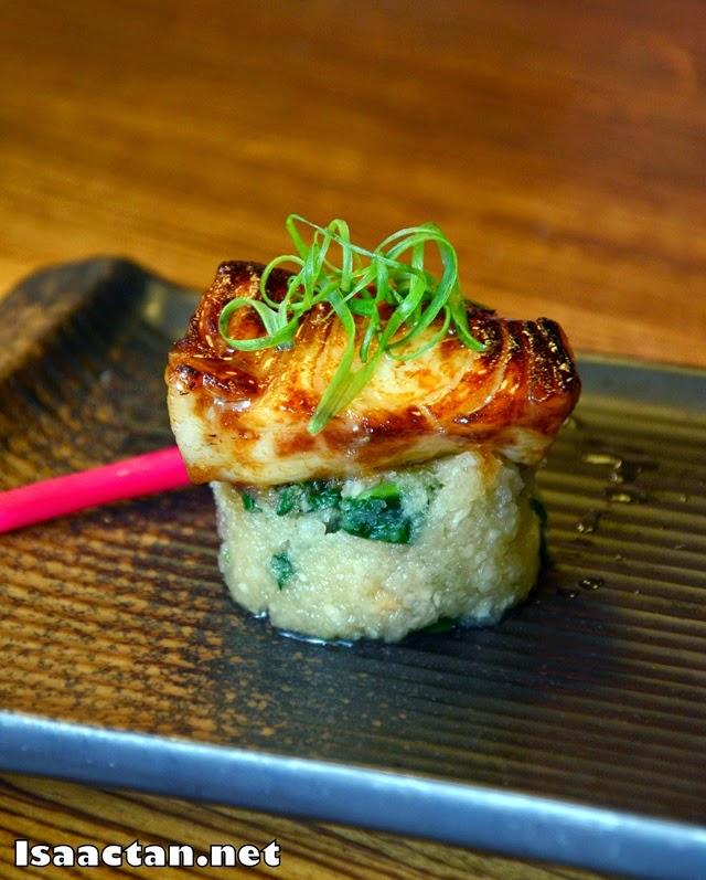 Gindara teriyaki (cod fish)