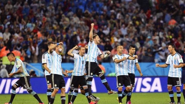 Keputusan Argentina vs Belanda Piala Dunia 2014