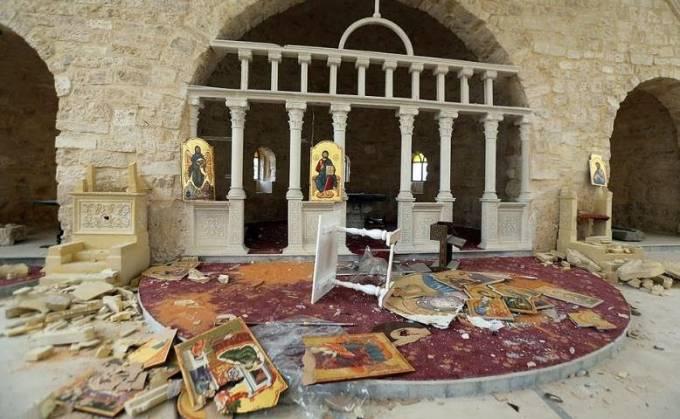 Βανδαλισμοί στον Ιερό Ναό Αγίων Αναργύρων - «Αντιεξουσιαστές» τρομοκρατούν την Εκκλησία