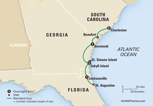 The World According To Barbara JEKYLL ISLAND CLUB A - Georgia map jekyll island