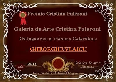 Gheorghe Vlaicu - Premio