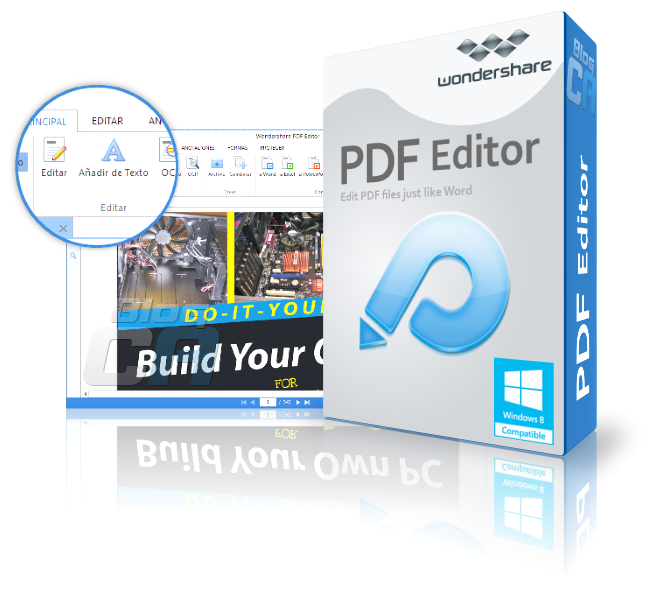 Wondershare PDF Editor v3.7.2.1 - PDF solution : Create, edit , convert PDF files