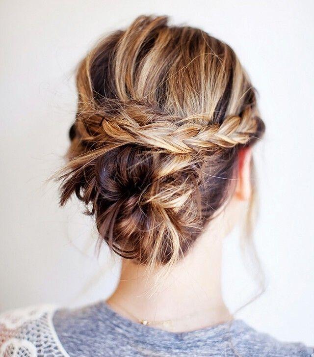 Stylish New Braided Updo Hairstyles 2015 Blog2