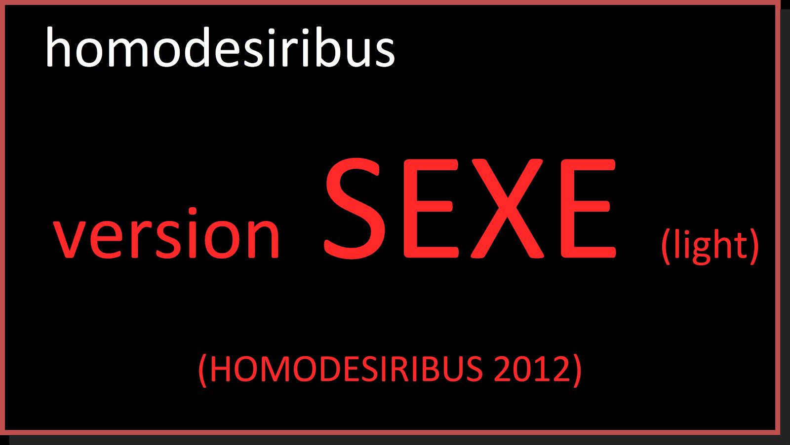 HOMODESIRIBUS 2012
