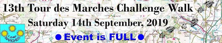 Tour des Marches Challenge Walk (13th edition)