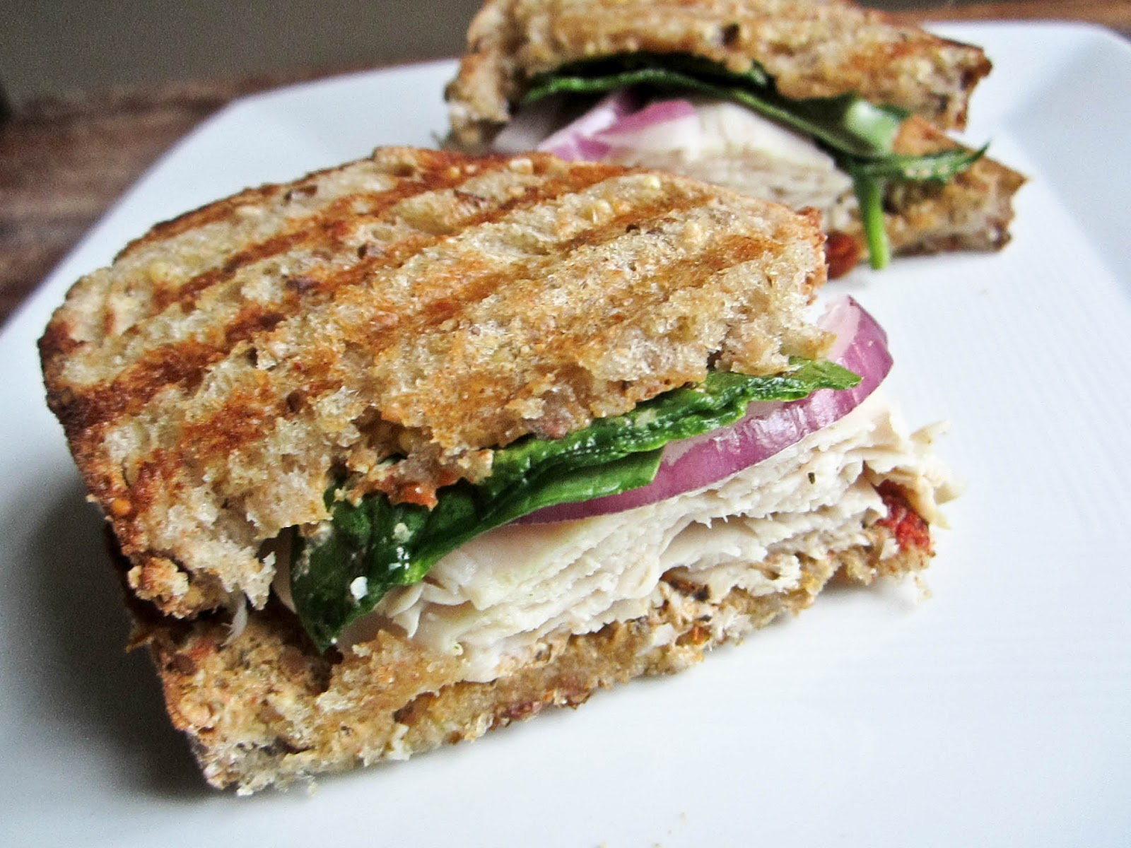 Cheese Please: Turkey Caprese Panini