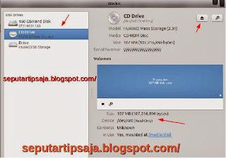 cd drive modem ubuntu
