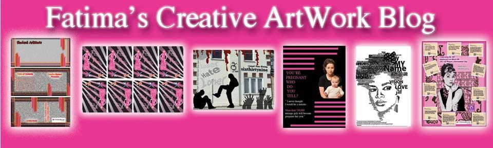 Fatima's Creative Art Blog