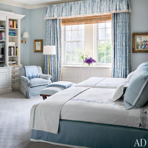 Loveisspeed alexa hampton renovates a manhattan for Bedroom ideas hamptons