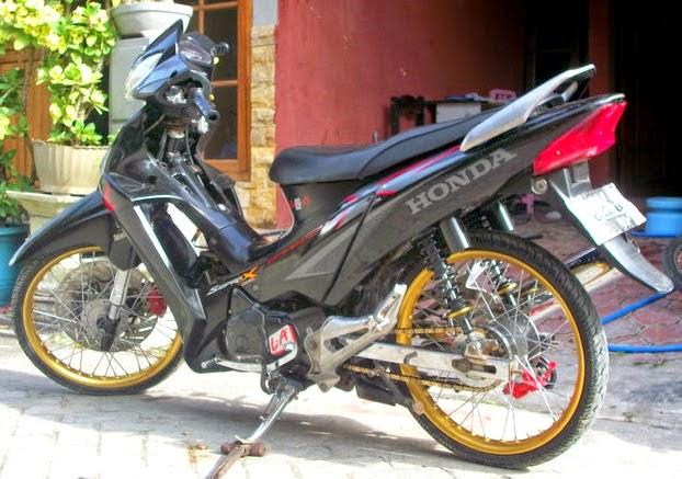 modifikasi motor supra x 125 tahun 2006