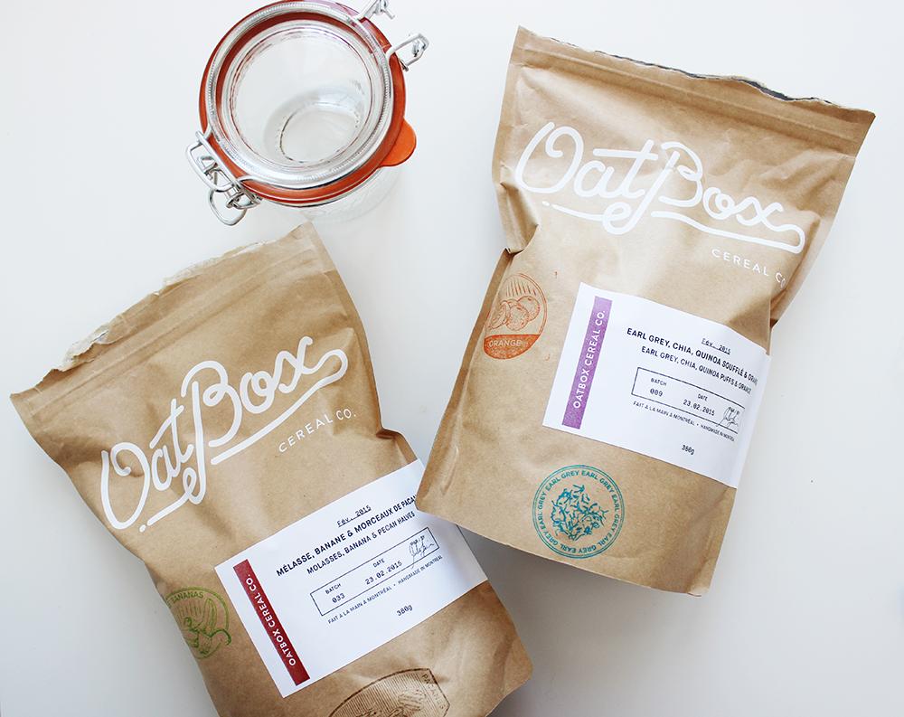 Oatbox abonnement mensuel boîte gruau céréales déjeuner