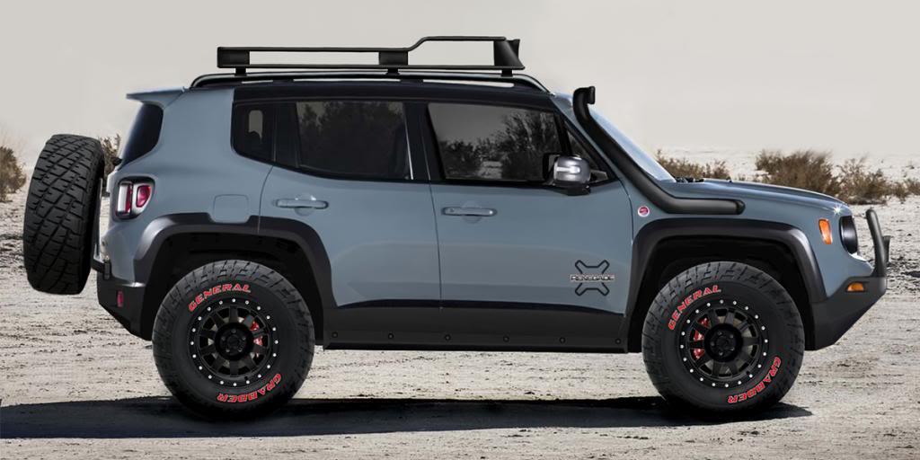 Jacked Up Jeep Renegade >> Bear Chrysler Dodge Jeep Ram Hamster Car Or Jeep Renegade