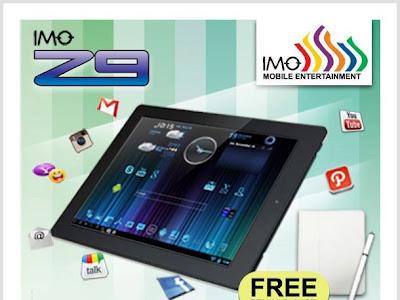 Harga Spesifikasi IMO Tab Z9