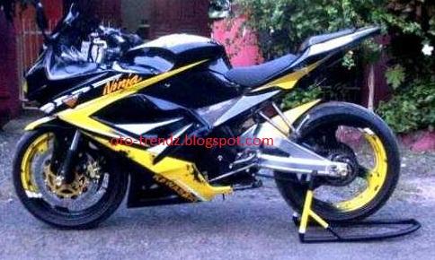 Modif Vixion Model NINJA 250cc | Oto Trendz