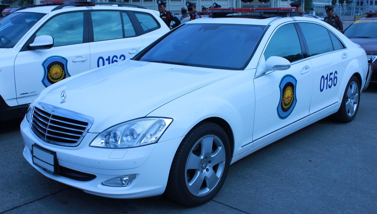 Mercedes s class s600 p police car from mexico cars for Www mercedes benz mexico