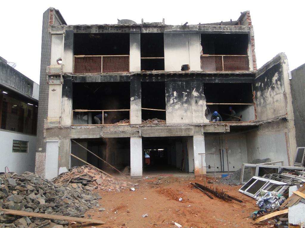 Começa em Teresópolis a reforma do Centro Administrativo Celso Dalmaso