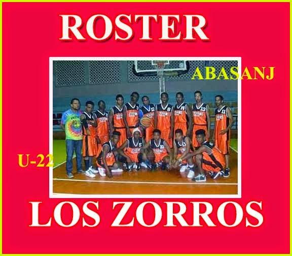 ROSTER LOS ZORROS