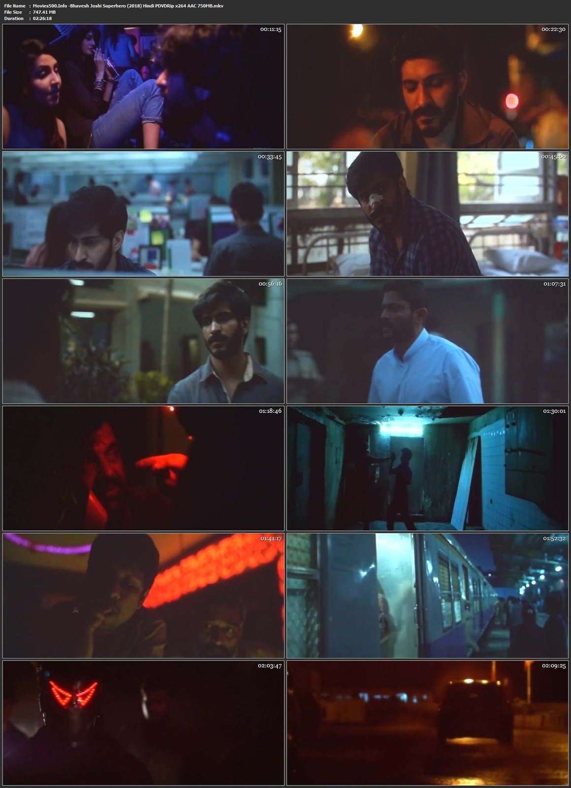 Bhavesh Joshi Superhero 2018 Bollywood 300MB Hindi pDVDRip 480p