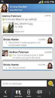 BBM Android versi 1.0.4.97 terbaru
