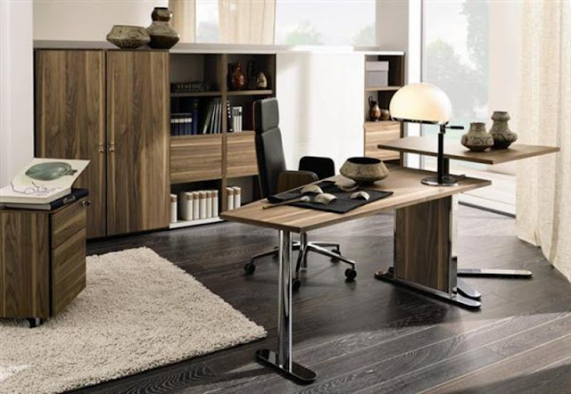 contemporary office decorating ideas