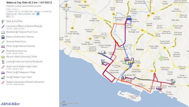 Ahpek Biker Old Dog Rides Again Malacca Peranakan