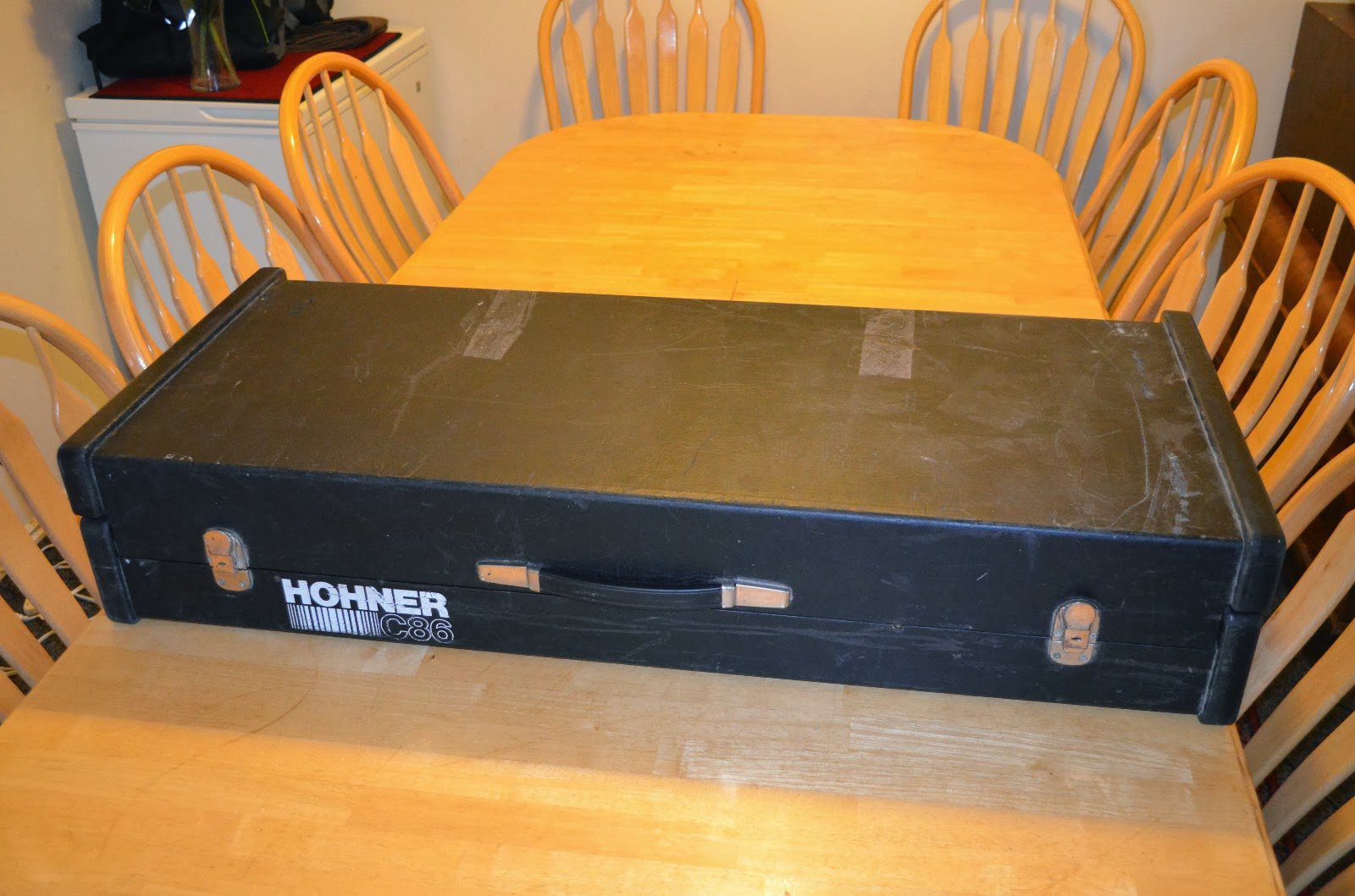 Matrixsynth vintage hohner c86 organ piano bass for Classic house organ bass