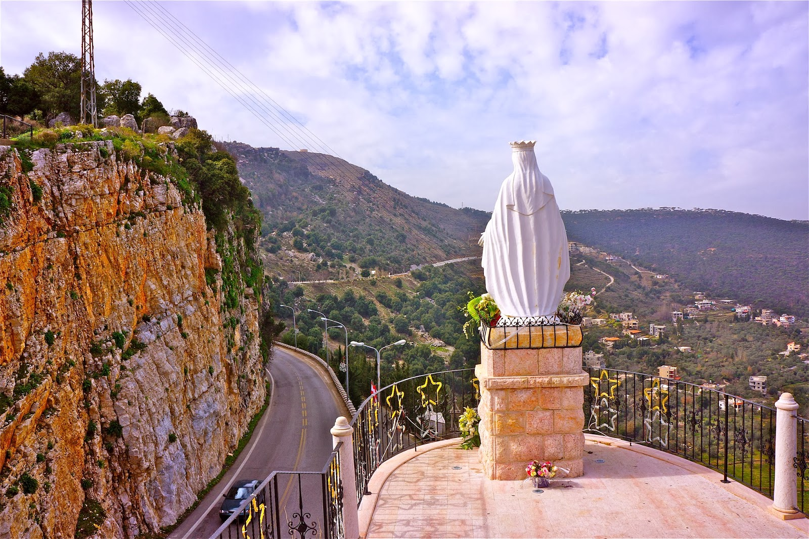 Picture from Jezzine in South Lebanon.