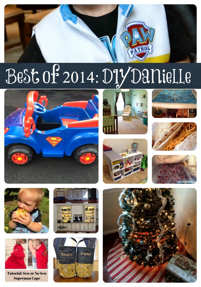 Do-It-Yourself Danielle: My Favorite Projects from 2014