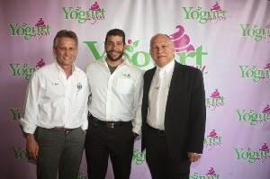 EL Alcalde del Doral Luigi Boria, Marcos Gamez y Ricardo Casado.