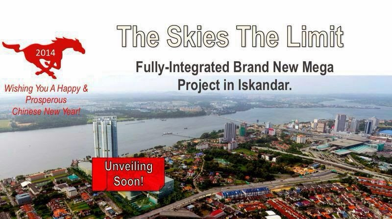Skies @ Vantage Bay, Iskandar Malaysia