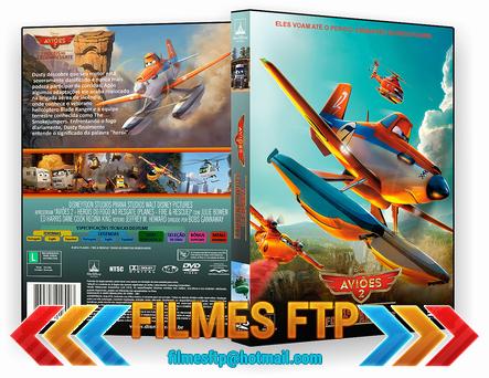 Aviões 2 Heróis do Fogo ao Resgate 2014 DVD-R OFICIAL
